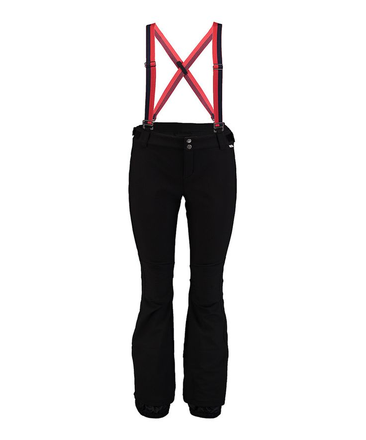 Take a look at this O'Neill Black Retro Softshell Pants & Suspenders - Women today!