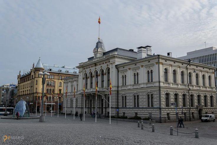 Ратуша – #Финляндия #Пирканмаа #Тампере (#FI_11) Одна из основных достопримечательностей города Тампере http://ru.esosedi.org/FI/11/1000226547/ratusha/
