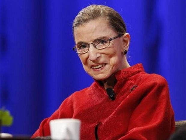 Justice Ginsburg. Two broken ribs- worked right through it. Like a boss.