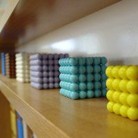 Image of bead objects on store shelf.