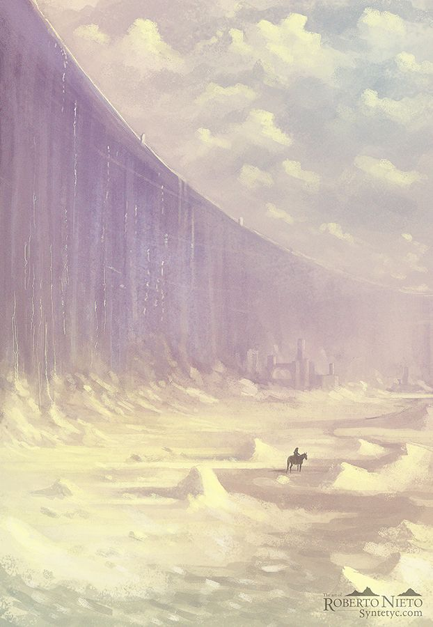 The Wall - Song of Ice and Fire by *Syntetyc on deviantART