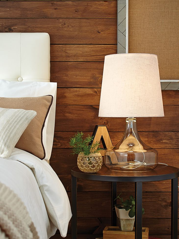 The CANVAS Decorative Glass Table Lamp is both functional and fun!