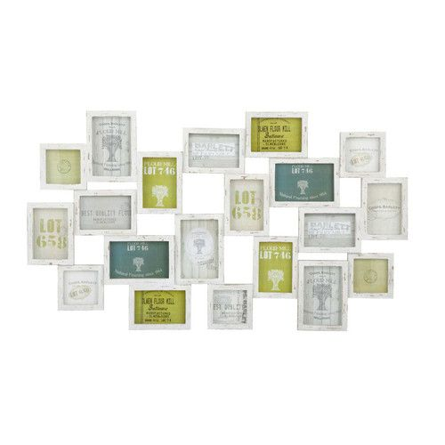 Mehrfachbilderrahmen MEMORIES aus Holz, 52 x 89cm
