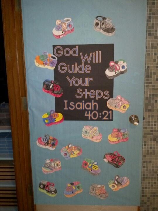 Moms Catholic Schools Door Banner