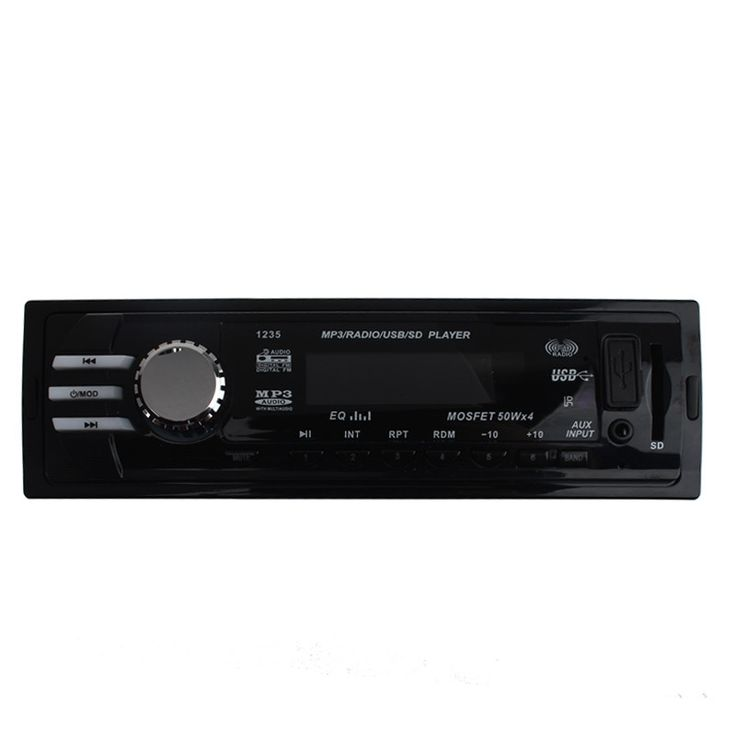 AUTO High Quality Car Audio Stereo In Dash Auto Car Radio MP3 Player FM Aux Input Receiver USB SD with Remote Au 09