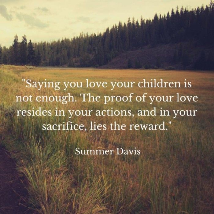 Parent is spelled S-A-C-R-I-F-I-C-E : Parenting is hard. Are you making the right sacrifices for your children?