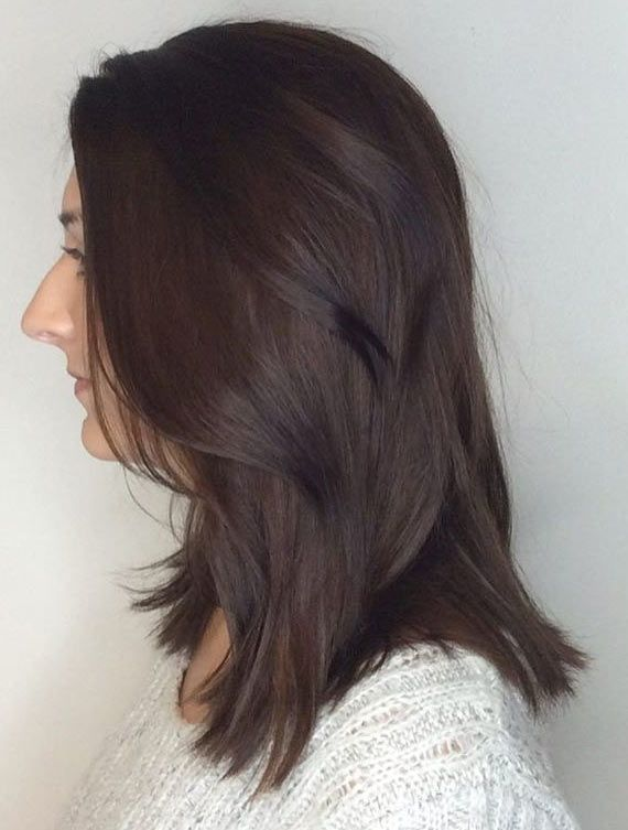 Top 30 Chocolate Brown Hair Color Ideas チョコレートブラウンの