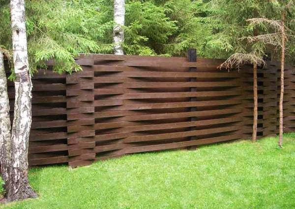 Backyard Fences Ideas simple backyard fence designs beautiful wood fence designs backyard privacy ideas 11 ways to add yours 25 Beautiful Fence Designs To Improve And Accentuate Yard Landscaping Ideas