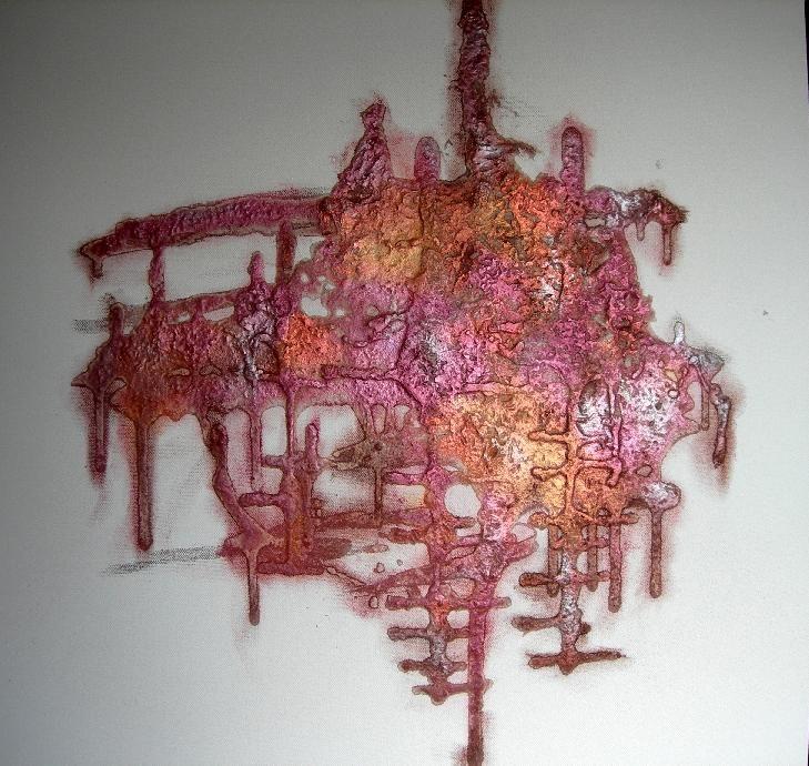 Pin By Debbie Evans On Deco Ideas In 2019: Tutoriel Powertex Abstrait Sur Toile (Tableaux Home Déco