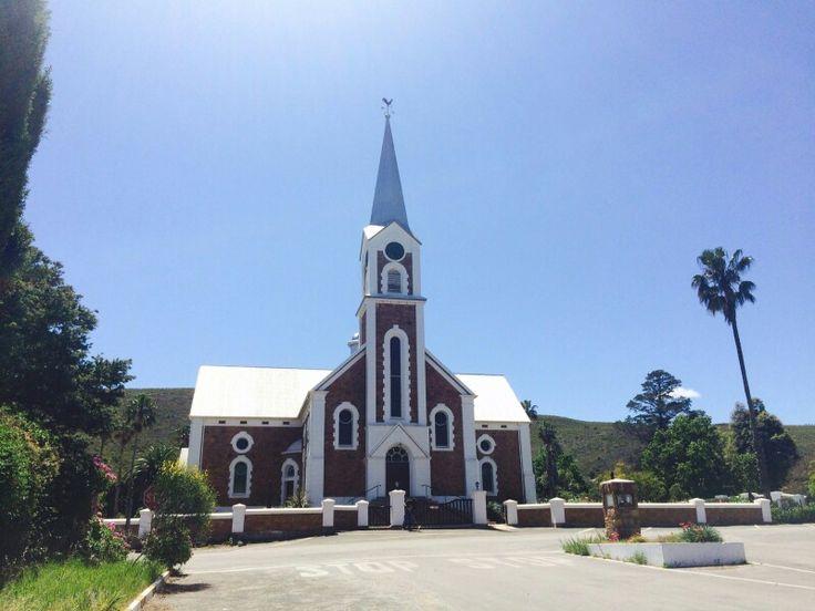 Beautiful church in Joubertina, Eastern Cape, South Africa