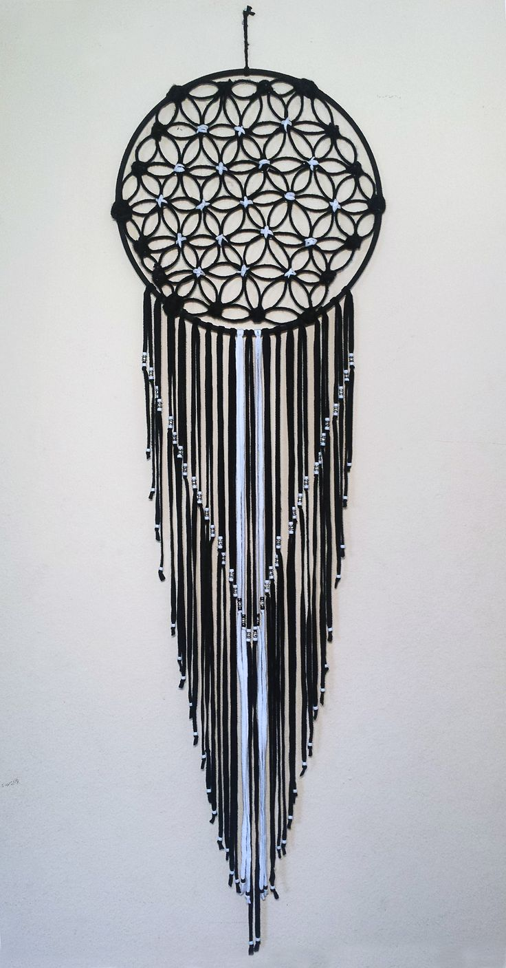 Flower of life Dream Catcher