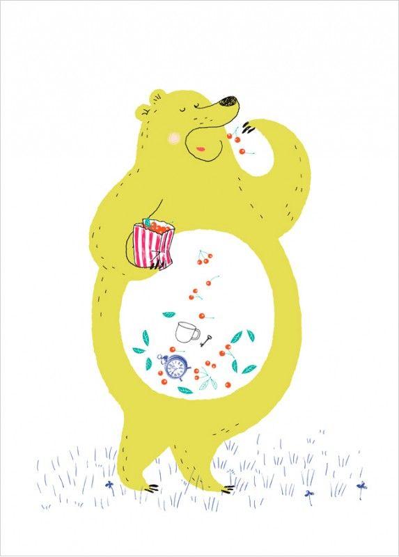 Affiche Déco Animaux pour enfants, par Dominique Le Bagousse