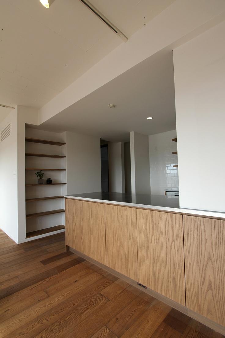 kitchen/キッチン/造作キッチン/タイル/design by フィールドガレージ