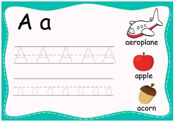 Tracing Alphabet