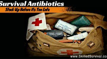 Survival Antibiotics