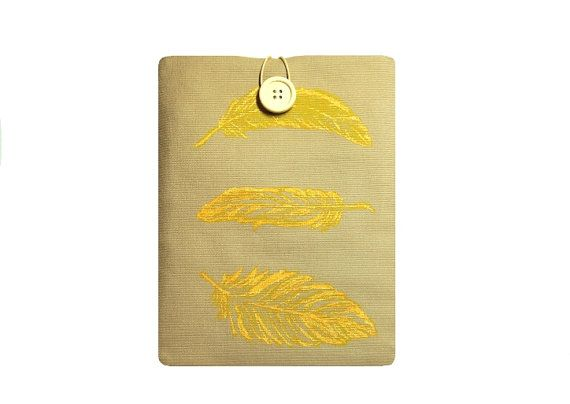 """I added """"Kindle Paperwhite Case Yellow Feathers. by ShopFre"""" to an #inlinkz linkup!https://www.etsy.com/listing/264702130/kindle-paperwhite-case-yellow-feathers?ref=shop_home_active_3"""