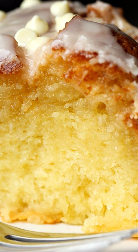 Ridiculous Vanilla Cake