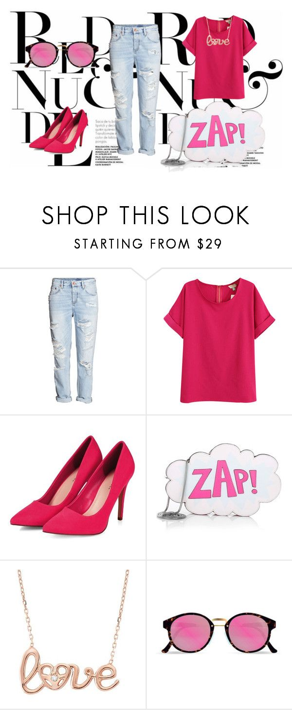 """""""Untitled #92"""" by nashrinsabila on Polyvore featuring H&M, Rebecca Minkoff, RetroSuperFuture, women's clothing, women, female, woman, misses and juniors"""