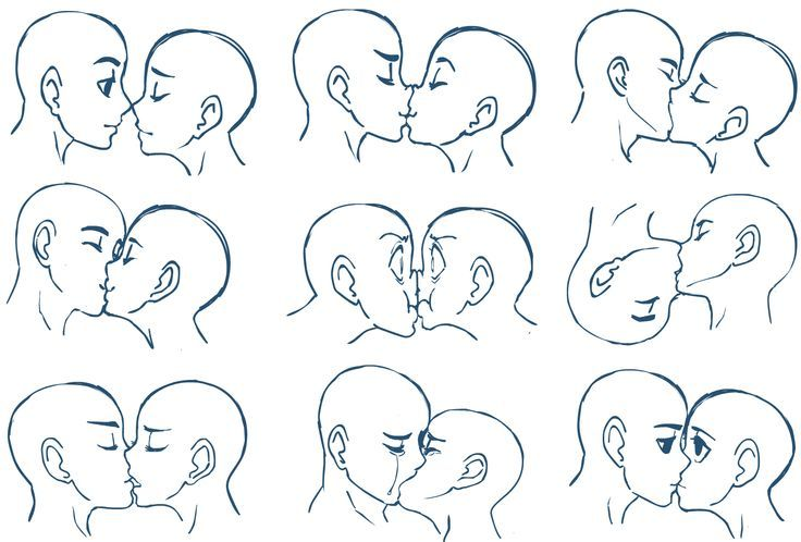chibis parejas poses - Buscar con Google