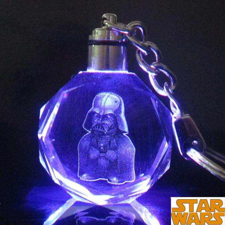 Star Wars Colorful Crystal Keychain
