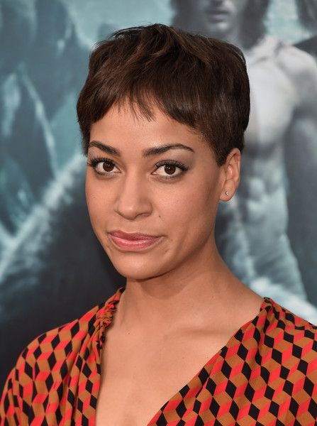 Cush Jumbo Pixie - Cush Jumbo attended the premiere of 'The Legend of Tarzan' wearing her signature pixie.