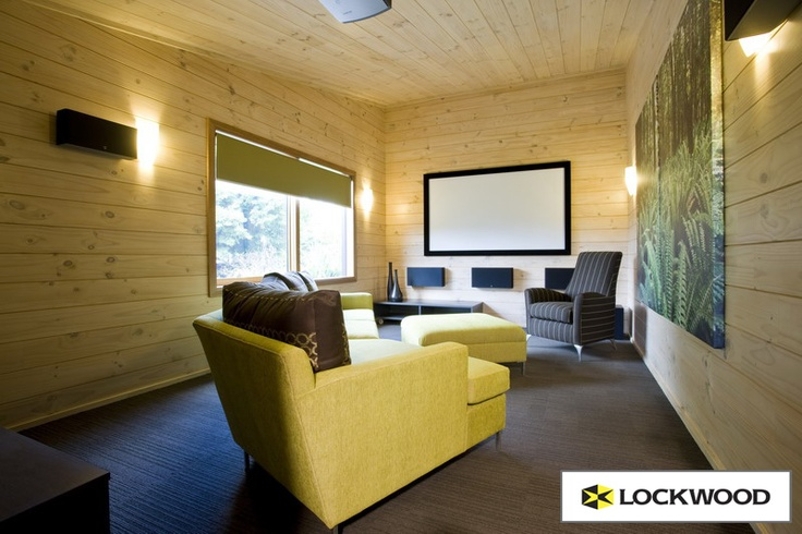 Lockwood Gullwing homes have a media room off the main living area