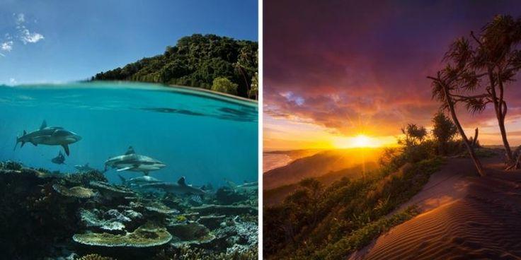Fiji Adaları'ndaki Huzurlu Mavi Lagünleri Keşfedin ♥♥♥ Discover the peaceful Blue Lagoon in Fiji