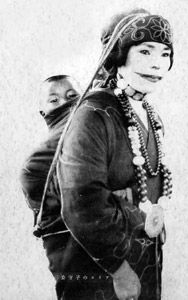 Chikabumi Ainu woman with child, about 1930 The Ainu are an indigenous people in Japan (Hokkaidō) and Russia (Sakhalin and the Kuril Islands).