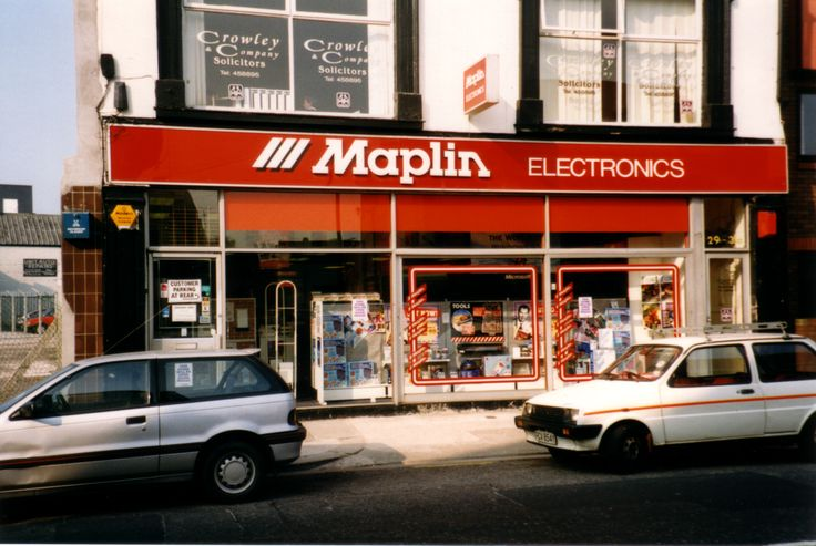Maplin Electronics from yesteryear - the City Road location in Cardiff