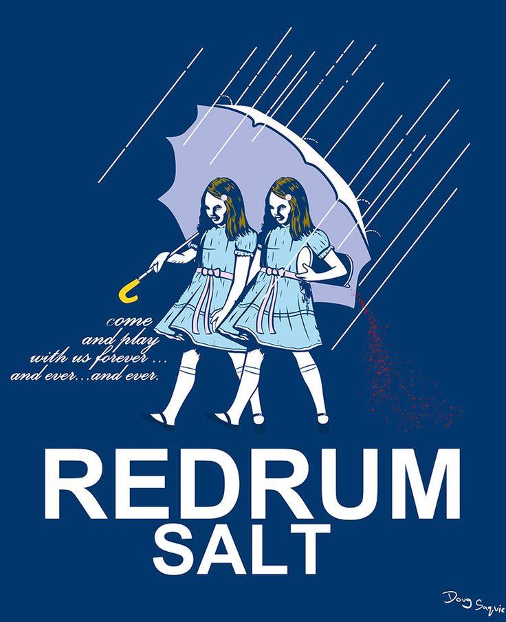The Shining twins meet Morton Salt by DougSQ on DeviantArt., SHIRTS COMING SOON HERE http://thterrortime.net/