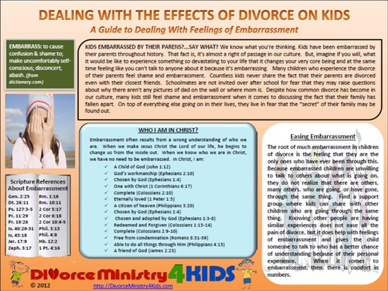 Divorce and children essay