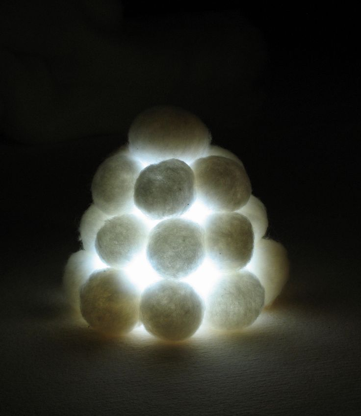 In Finland, people make these kind of outdoor lanterns with snowballs. They put special outdoor candles inside.
