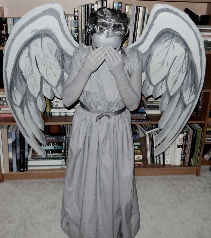 weeping angel halloween diy costume