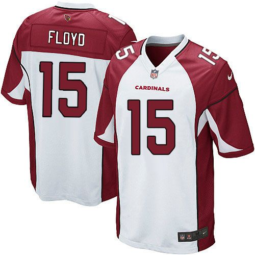 Limited Michael Floyd Youth Jersey - Arizona Cardinals 15 Road White Nike NFL