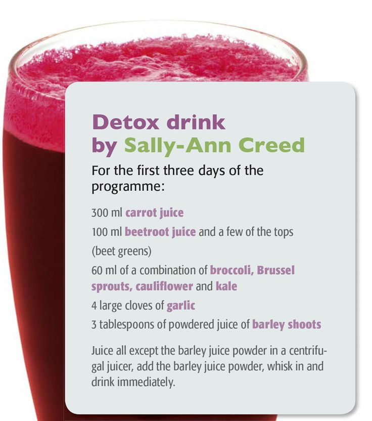 Time to detox those livers with this delicious daily detox drink from Sally Ann Creed #liverhealth #detox  #loveyourliver #liverdetox