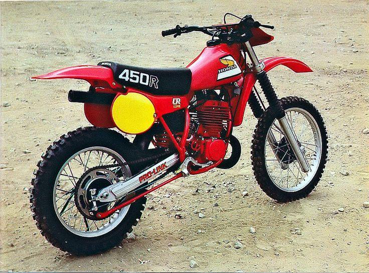 HONDA CR 450 R Elsinore 1981