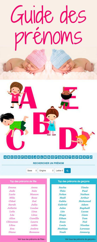Quel nom pour bébé? Signification et origine des prénoms, prénoms de fi …