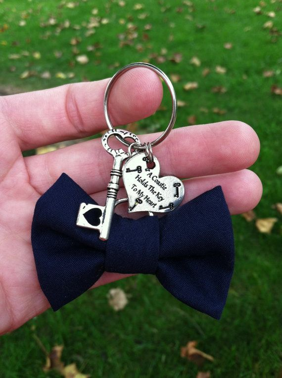 Coast Guard Bow Keychain by GreenStarAccessories on Etsy