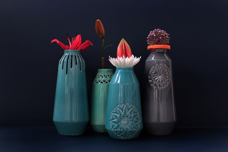 ANNY& - carved vases by douwe & wiebren