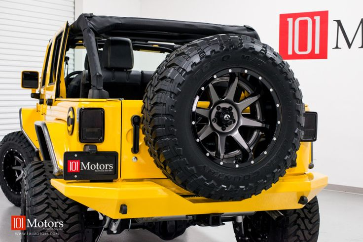 2015 jeep wrangler unlimited hardtop baja yellow 101 for Iconic motors tempe az