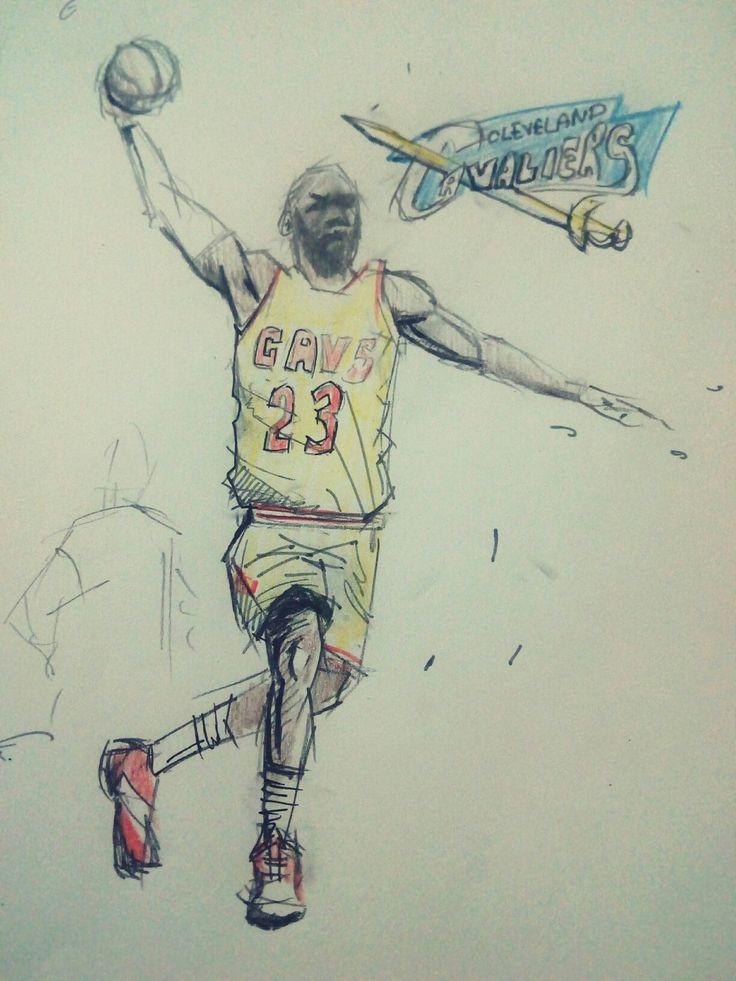 #illustration #illustrator #nba #cavs #cavaliers #clevland #lebronjames