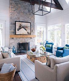 House tour: Modern nautical-style cottage