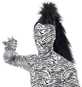 Haarstuk Manen Zwart