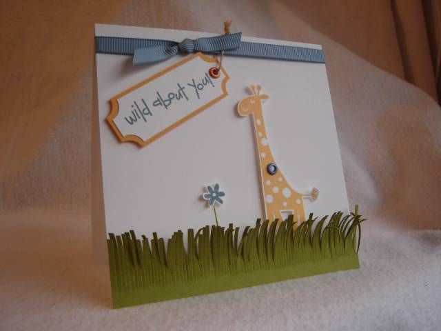 95 best cards wild about you images on pinterest kids cards wild thing by kysmom cards and paper crafts at splitcoaststampers bookmarktalkfo Images