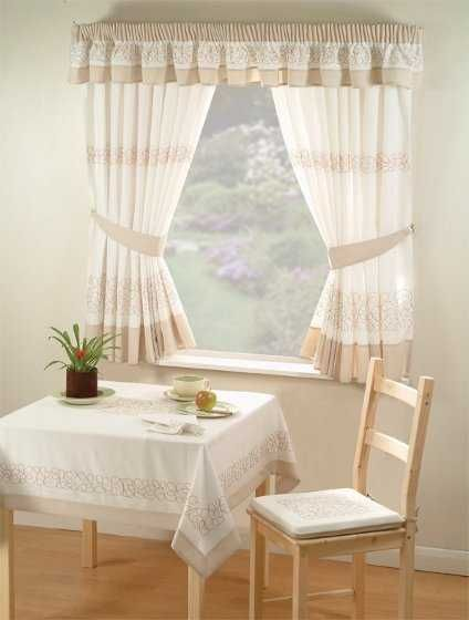 65 best CORTINAS images on Pinterest Window dressings, Bedroom and - cortinas para ventanas grandes