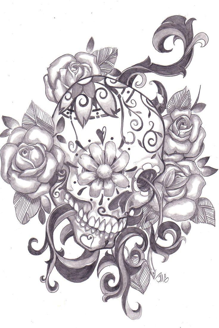 Calaveras Mexicanas/Sugar Skull - Imagenes - Taringa!