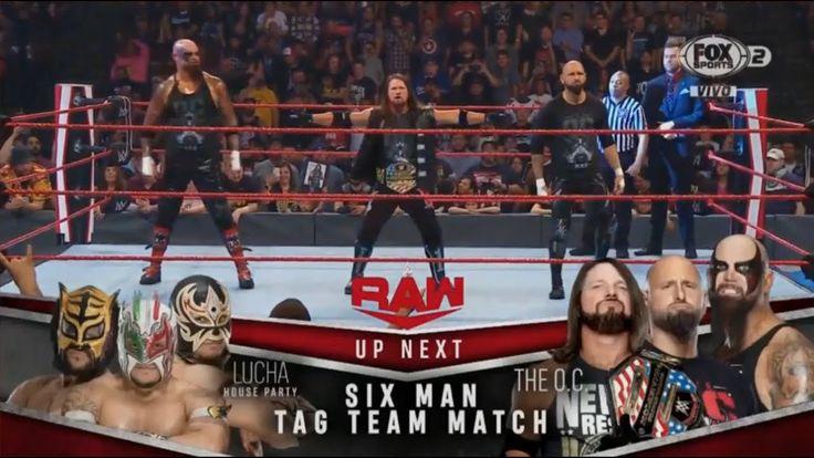 WWE Monday Night Raw, 7 de Octubre, 2019 en Español Latino
