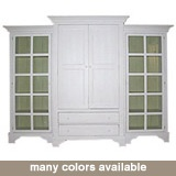 Bradshaw Kirchofer Classic Armoire with Two Curios BK109