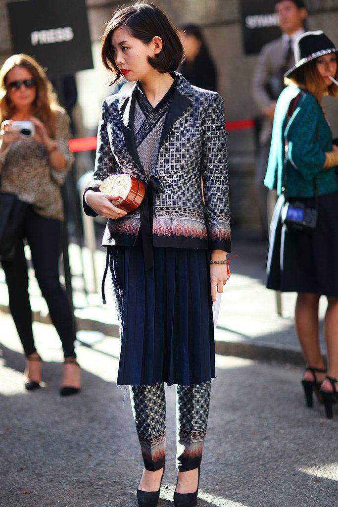 Oh snap the street style moments that totally made our for When is fashion week over
