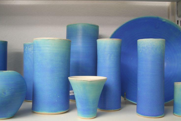 Aylesford Pottery 'Aylesford Blue' glaze © 2015